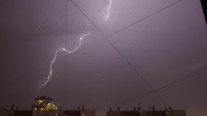 Жителя Челябинской области убило молнией