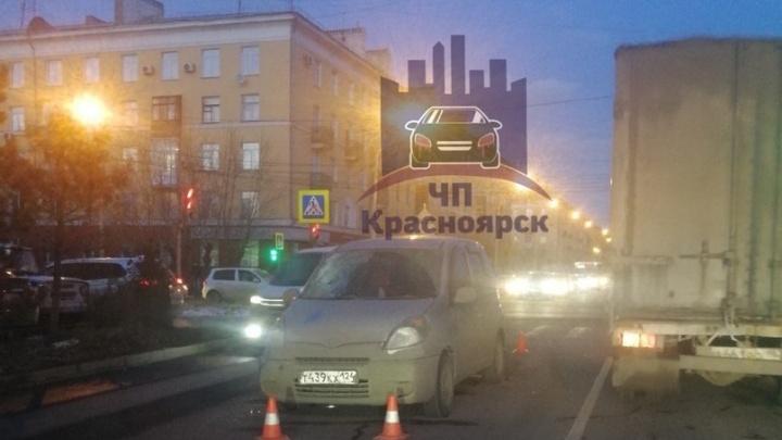На правобережье Красноярска 16-летнего подростка сбили на пешеходном переходе