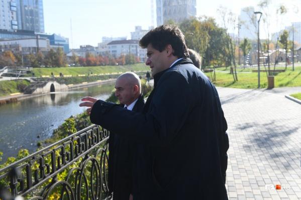 Прогуляемся с мэром Екатеринбурга по центру города