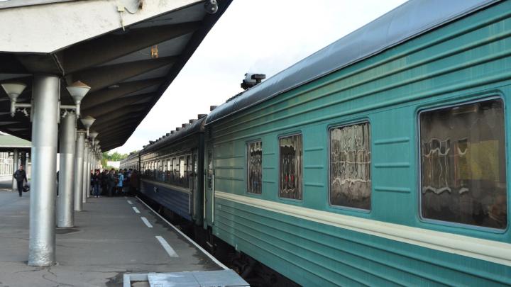 Из-за коронавируса в Архангельской области отменили движение трёх поездов