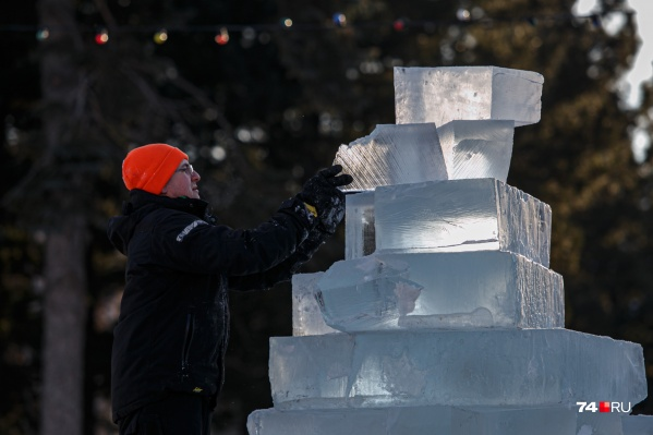 Ледовый городок должен быть готов к 25 декабря