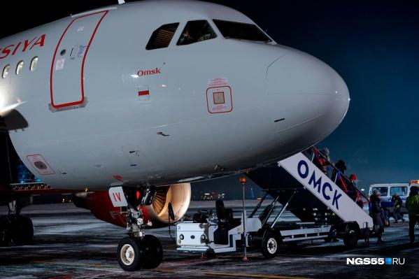 Высокопоставленные омские чиновники в основном летают бизнес-классом