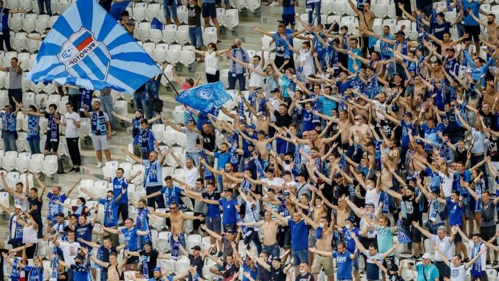 Встреча на «Волгоград Арене» стала самым посещаемым матчем первого тура РПЛ