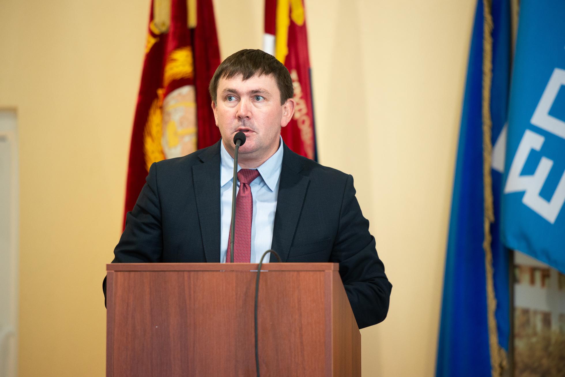Глава администрации МО г. Каменск-Уральский Алексей Шмыков