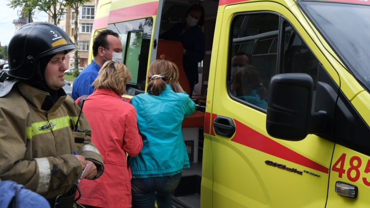 В челябинском горздраве назвали число пострадавших в аварии BMW с маршруткой и их диагнозы