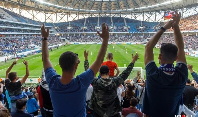 Окатит с головы до ног: на стадионе «Волгоград Арена» показали, как работают туннели дезинфекции