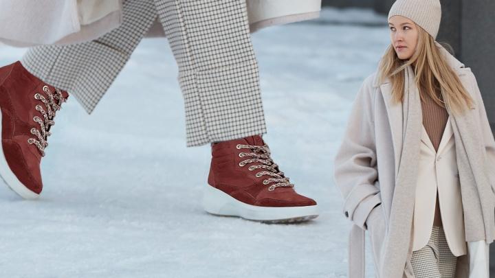 Омск накроют холода: в продаже появилась ультратеплая обувь на морозостойкой подошве