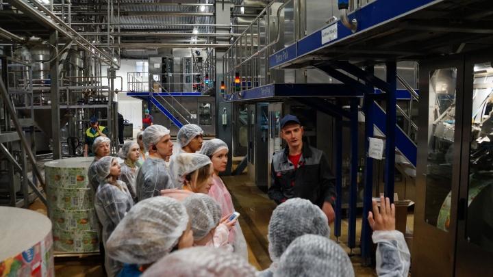 Компания-производитель соковой продукции профинансирует обучение студента в ВолгГТУ