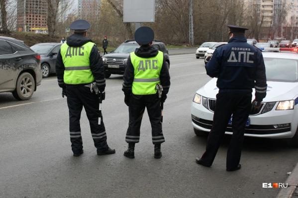 Свердловские гаишники подсчитали, сколько пьяных водителей поймали за месяц режима самоизоляции