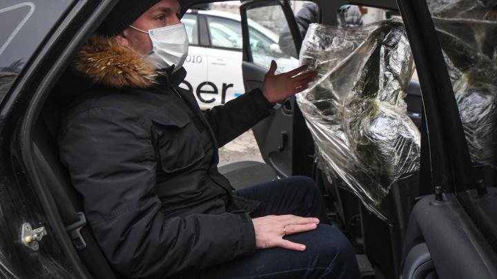 Водителям такси придется регистрировать в ГИБДД установленные перегородки