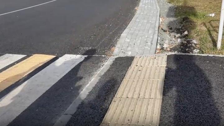 «Плитка для слепых лежит не по ГОСТу»: челябинский депутат-инвалид «разбомбил» работу подрядчиков мэрии