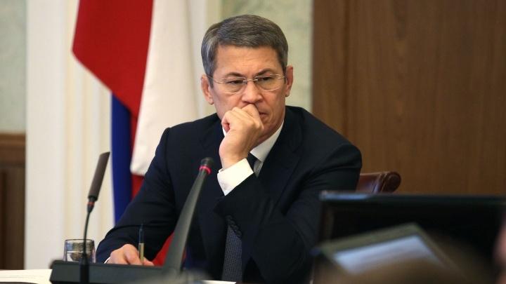 Хабиров ответил Путину на его требование разобраться с акциями БСК