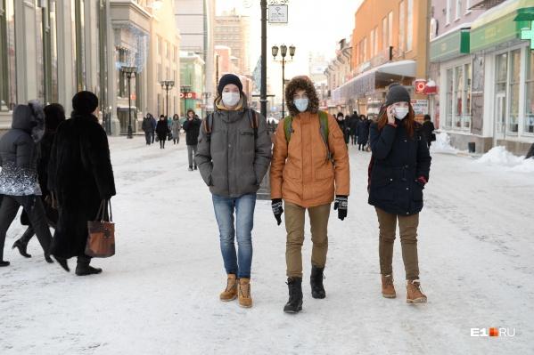 Морозы оставили людей дома, и это хорошо сказалось на борьбе с COVID-19