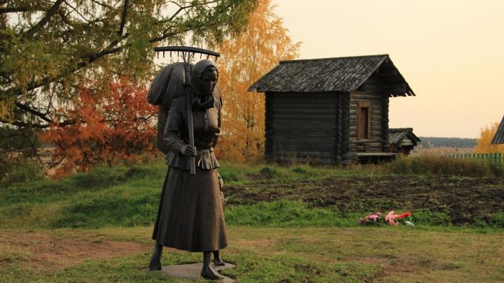 Боярская мечтает приехать сюда с детьми: как в Верколе открыли памятник женщине-труженице — фото