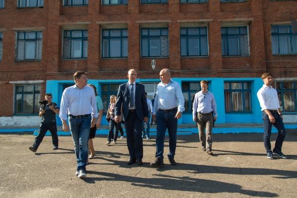 Сергей Цивилев посещал школу в 2018 году