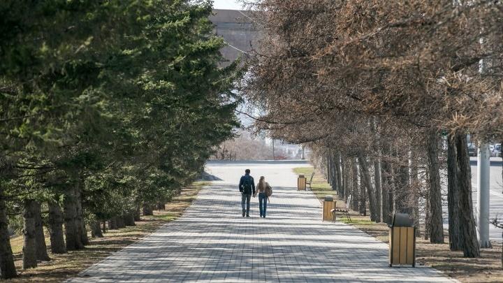 На следующей неделе в Красноярск придет по-настоящему летняя погода