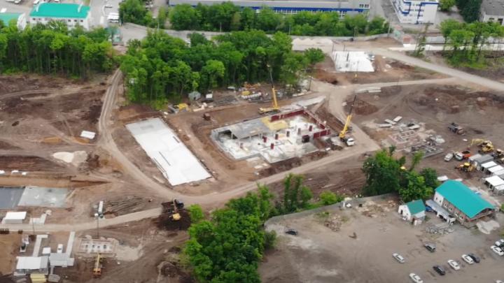 Взялись за второй этаж: что строят около стадиона «Самара Арена»