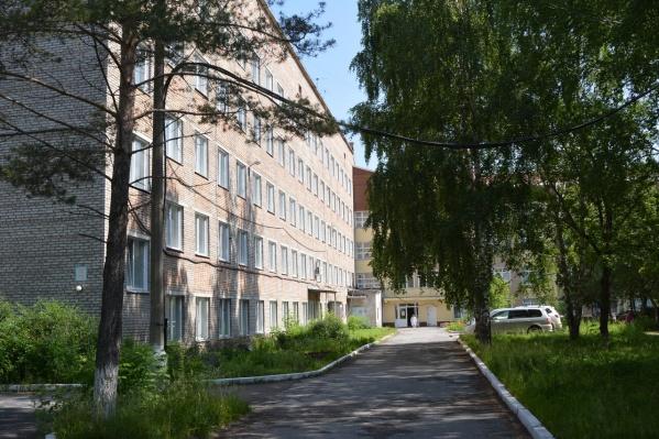 Ачинская межрайонная больница — в ней находится ковидный госпиталь