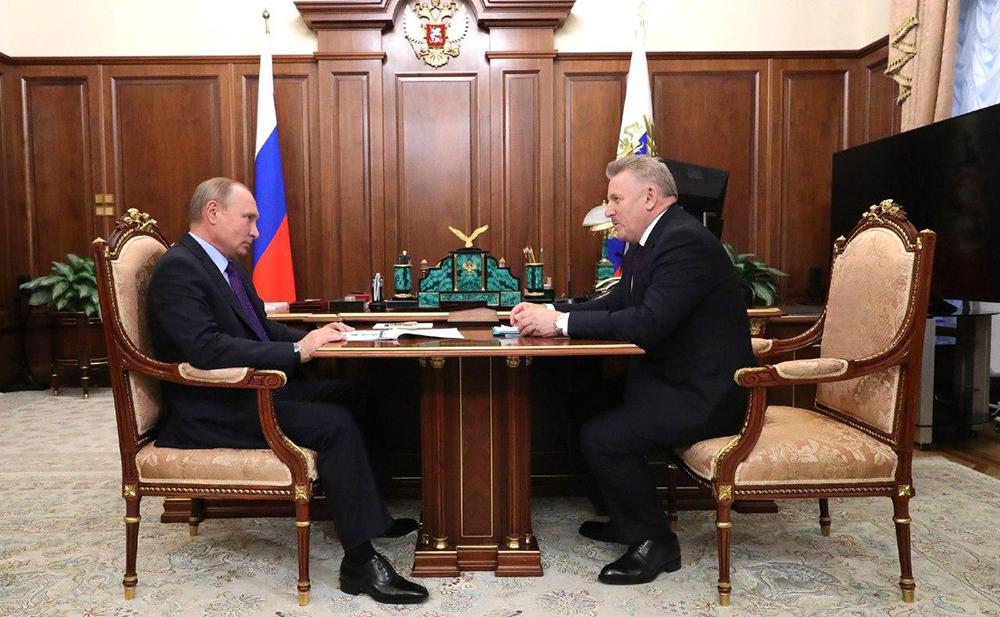Путин и Шпорт