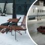 В Архангельске задержали водителя, который сломал кресла на Красной пристани