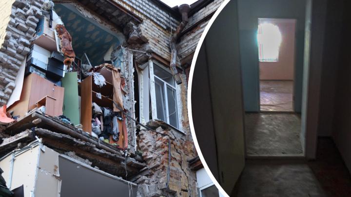 Сменили шило на мыло: жильцам рухнувшего дома на Галактионовской предложили переехать в Озерный
