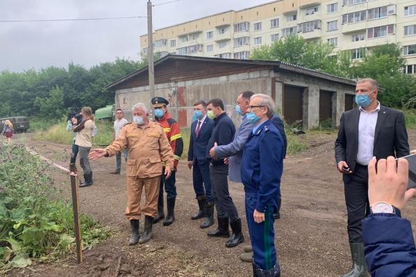 Губернатор и прокурор вместе приехали в Нижние Серги