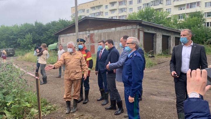 Губернатор приехал в Нижние Серги: прямой эфир E1.RU