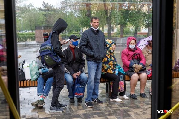В Волгограде 45 заболевших