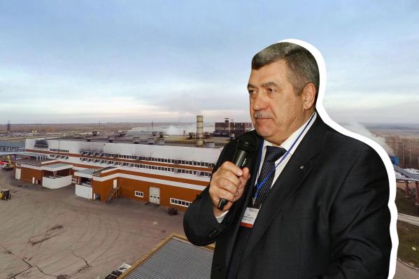 Основал предприятие известный бизнесмен Николай Таран