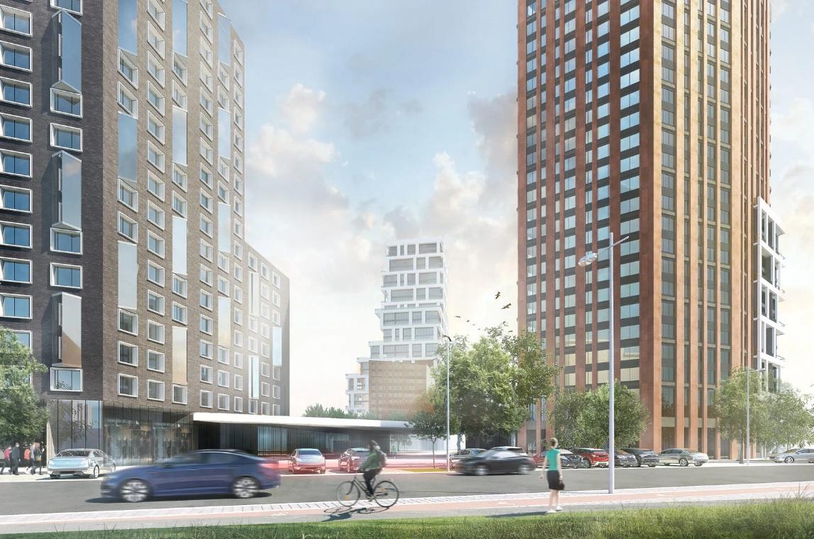 Площадь жилого комплекса составит 53 тыс. кв. м