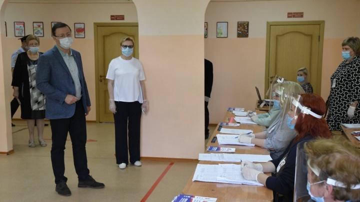 «Явка приближается к 60%»: губернатор рассказал о том, как проходит голосование в СО