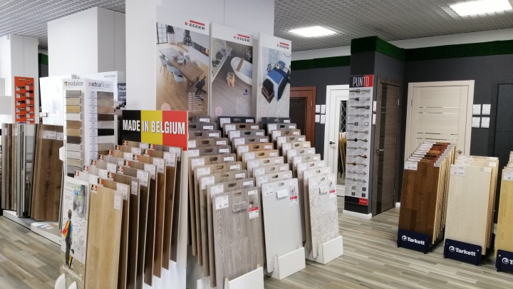 В Тюмени открылся новый магазин строительно-отделочных материалов