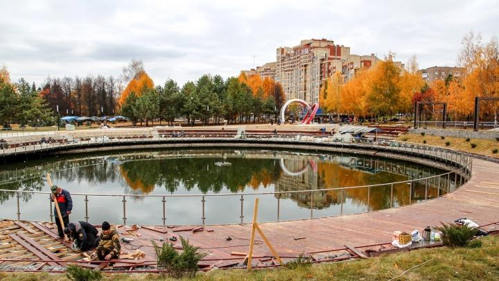 «Работаем и днем, и ночью. В три смены»: как выглядит «лучший» парк Башкирии перед открытием