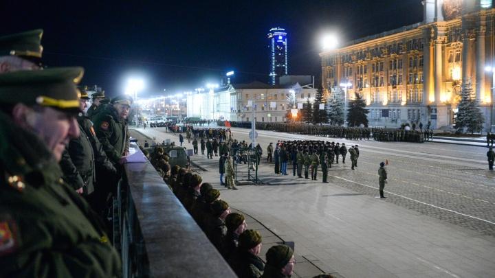Мэр Екатеринбурга анонсировал репетиции военного парада