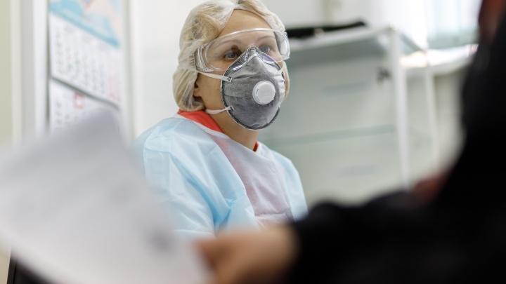 В Волгоградской области в 2,1 раза увеличилось число заражённых коронавирусом