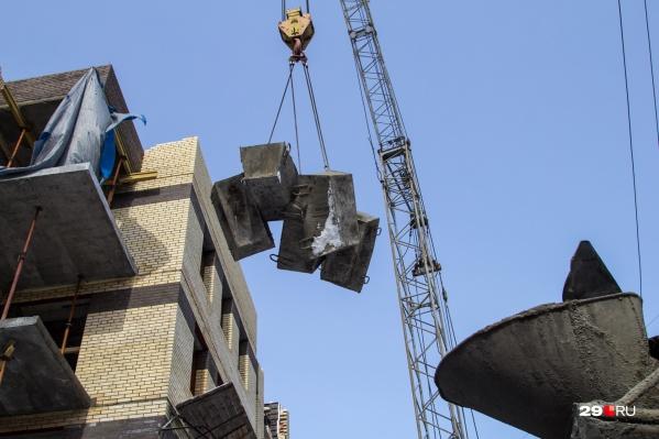 Дома планируют построить на улице Воронина и Московском проспекте