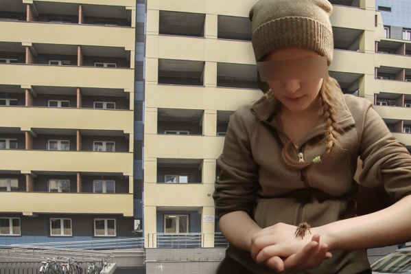 Девушка выпала с 9-го этажа