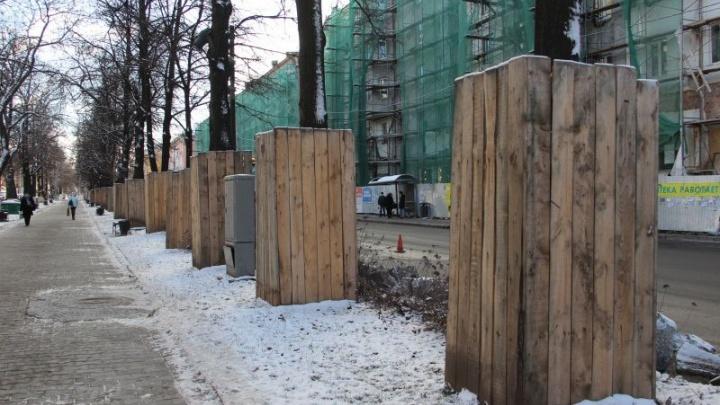 В Перми начинается капитальный ремонт нового участка Комсомольского проспекта
