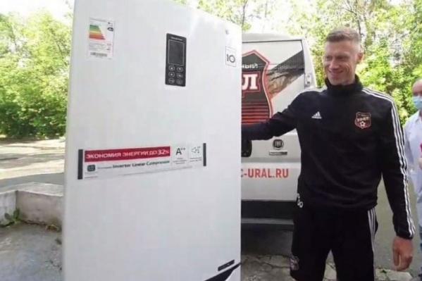 Павел Погребняк провел в «Урале» два сезона