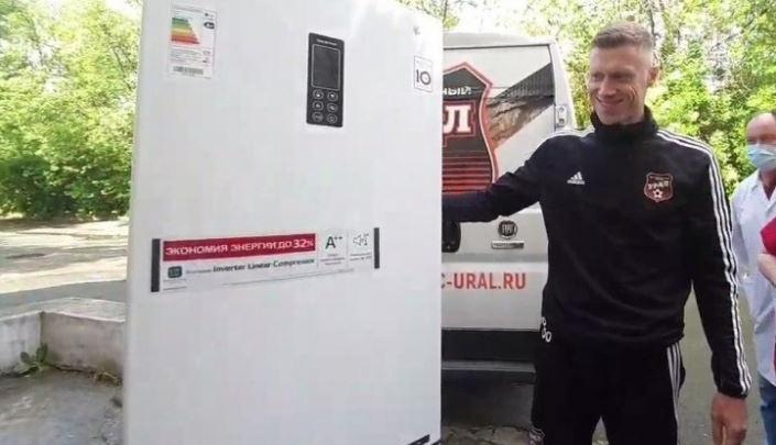 Спасибо, Паша, за восемь голов и холодильник: футбольный клуб «Урал» расстался с Погребняком