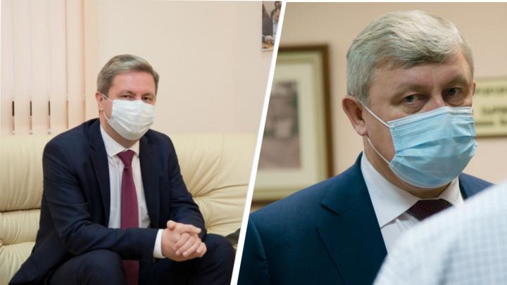 Дмитрий Морев и Сергей Роднев поборются за место главы Архангельска