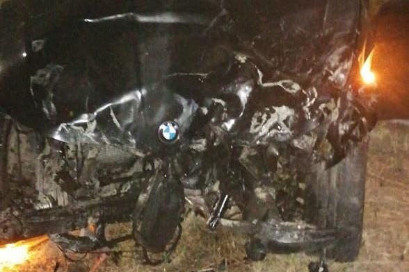 В Ростове пьяный водитель BMW въехал в колонну байкеров. Погибла девушка