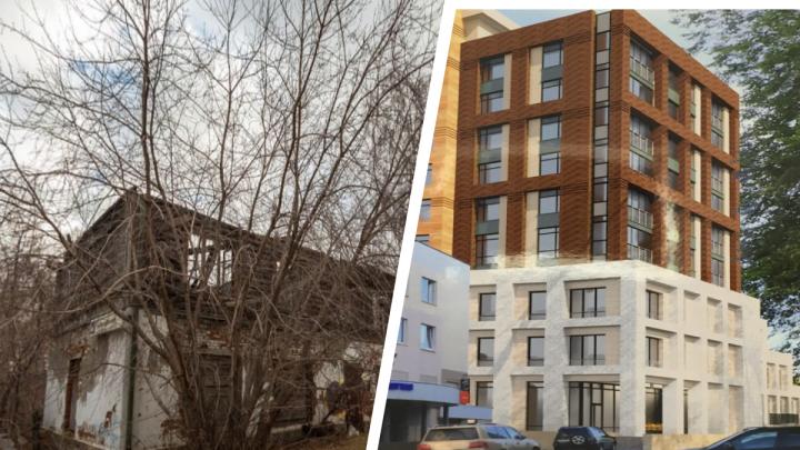 На Метеогорке участок с разрушенным зданием отдадут под строительство жилого дома: показываем проект