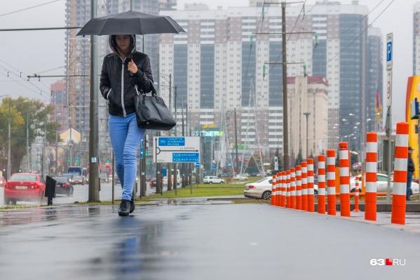 Под конец недели обещают дожди