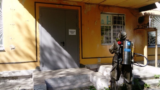 В Зауралье школы продезинфицировали после проведения выборов