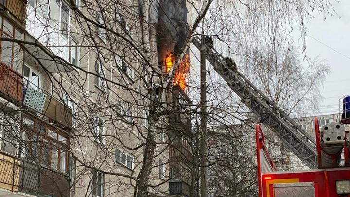 В Нижнем Новгороде на улице Берёзовской произошел взрыв