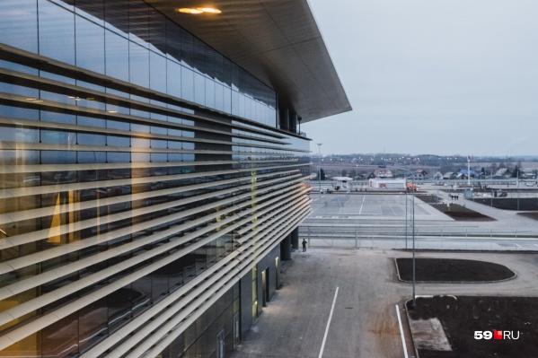 Телетрапы в аэропорту Перми заработают во второй половине сентября
