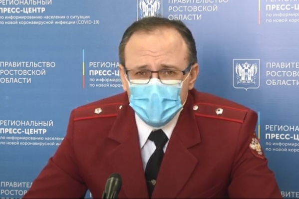По словам Ковалева, сейчас в регионе «напряженная ситуация»