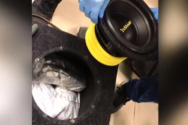 Наркоделец спрятал 17 кг «синтетики» в сабвуфере