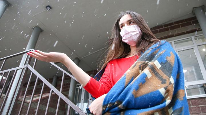 «Вау!»: журналисты UFA1.RU запечатлели первый снег